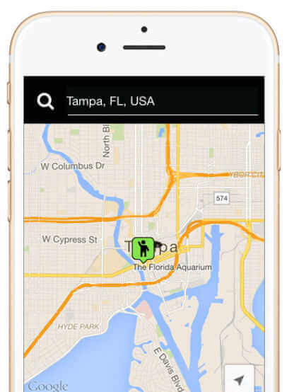 Download the Cab Plus App for iPhone and Android
